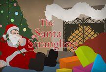 The Santa Strangling / by Shot In The Dark Mysteries