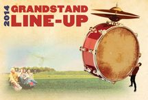 2014 Grandstand Line-up / Tickets for the 2014 Grandstand Line-up are on sale now through all Ticketmaster outlets.
