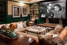 Media Rooms- S.B. Long Interiors / Collection of Media Rooms designed by S.B. Long Interiors