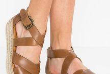sandaal met plateau