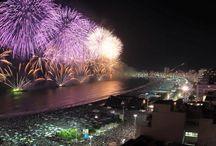 Rio de Janeiro <3 / My secret dream. ✟☀ ^_^ #beachCoppacabana #JesusChrist #Newyear2015 #Brasil