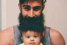 Bearded Men with Family, Friends and Pets / Beards and bearded men with their family, bearded friends, pets, flower beards and much more. If you are a bearded dad, have an awesome bearded friend or pet, or you just want to share a pin with your loved one who adores your beard, this is the place to do so. Please be polite and don't pin rude or inappropriate pins. To join simply send us a message. BEARD ON!