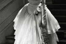 Costa de um vestido