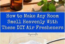 Homemade air freshners