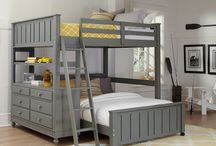 House: Kids Bunk Beds (Full Size) / Bunk bed ideas for kids!