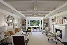 lovely long living room / by Maria Koschmeder