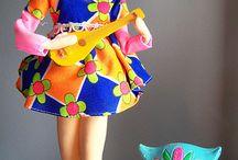 Japanese pose dolls☆