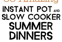 food | slow cooker (instant pot)
