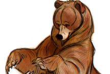 Character design - Bears