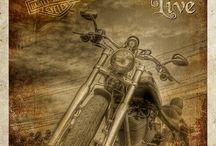 """Motos / """"Live to ride   Ride to live"""""""