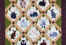 Rabbit quilt