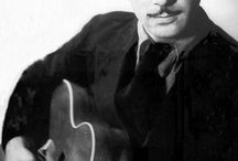 Jazz Guitarists / Here we pay tribute to the incredible jazz guitar players from throughout the 20th and 21st centuries. We have at times included numerous images of the same guitarist due to the power and influence their playing has had.