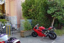 IN MOTO... A VILLA SIGNORINI / Accogliamo i nostri Clienti giunti presso la nostra Dimora Storica Settecentesca dalla Finlandia, dall'Olanda e dalla Svizzera a Bordo di queste Bellissime Motorbike.   http://www.villasignorini.it/it/moto-villa-signorini/