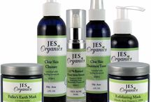 JES Organics Natural Organic Products / JES Organics is dedicated to providing the highest quality most natural health and wellness products at affordable prices. JES Organics offers a complete line of natural/organic skin, hair, body, cosmetic and home. We strongly believe that all products should be free of chemicals linked to cancer, birth defects, and other harmful effects. ALL JES Organics products are PARABEN, SULFATE, FRAGRANCE FREE. FREE OF TOXIC CHEMICALS.