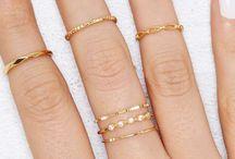 tendências de anéis
