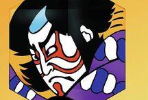 Japanese kite art