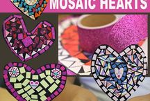 Elementary Valentine's Day Ideas, Activities, FREEBIES, & MORE / This board is FULL of great Valentine's Day ideas for the elementary classroom or homeschool! Your Kindergarten, 1st, 2nd, 3rd, 4th, 5th, and 6th grade students will enjoy the various arts & crafts, ideas, activities, FREE downloads, and resources that can be found here. Enjoy them all February long!
