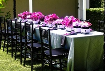 Weddings - Purple/Pink, Black and Silver