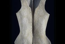 18th century - blanc corset, jump, waistcoat