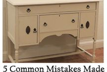 Furniture redos and tutorials