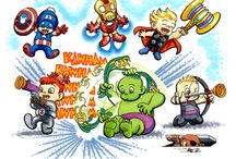Avengers / by Analeesa Carrasco