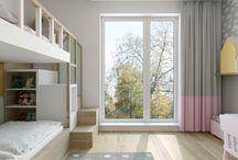 Pokój dziecięcy - sypialnia