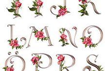 letras para bordar