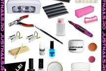 Produse unghii / Produse profesionale pentru aplicare unghii la preturi reduse. www.justnails.ro