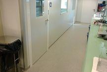 Pavimento vinílico / Revestimientos de suelos y paredes con pavimento vinílico