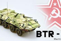 BTR-80 / 1/35 Trumpeter, Voayager, RB models