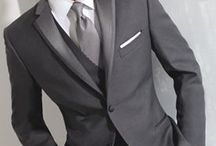 wedding tux grey
