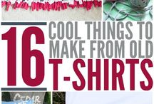 recycle a T-shirt