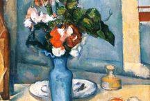 Cezanne - The blue vase