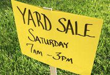 Yard Sales / by April Burnfin