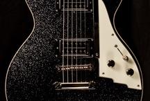 dark sparkle top guitar