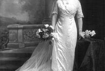 Vintage Weddings - the Way We Were / Example of real wedding 1900-1960's