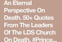 On death and dying LDS quotes