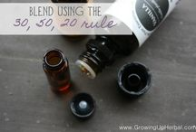 Essential oils and natural wellness. / by Rachel Witte