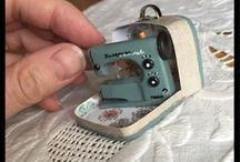 Mini Tutes Hobby / Tutorials for miniature hobby items like sewing/knitting etc
