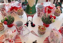 christmas tablescapes / by Debbi Buttram