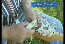 Making a crab net