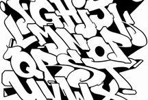 Caligrafía Graffiti