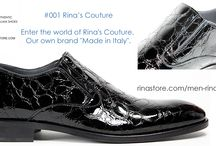 Rina's Couture - men's Italian shoes at Rina's Boutique / Enter the world of Rina's Couture.  Rina's Boutique's own brand of Men's Italian Shoes.  See the collection http://www.rinastore.com/men-rinas-couture/