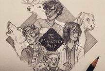 The Marauders / those four dorks that I love. also Lily who is a badass