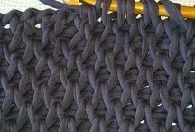 pontos de trico e croche