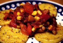 Polenta and Beans