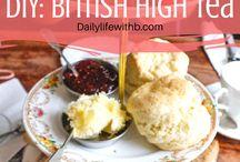 british high tea