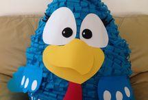 cumpleaños de la gallina pintadita