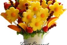 bouquets fruits