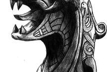 keltske znaky kresby